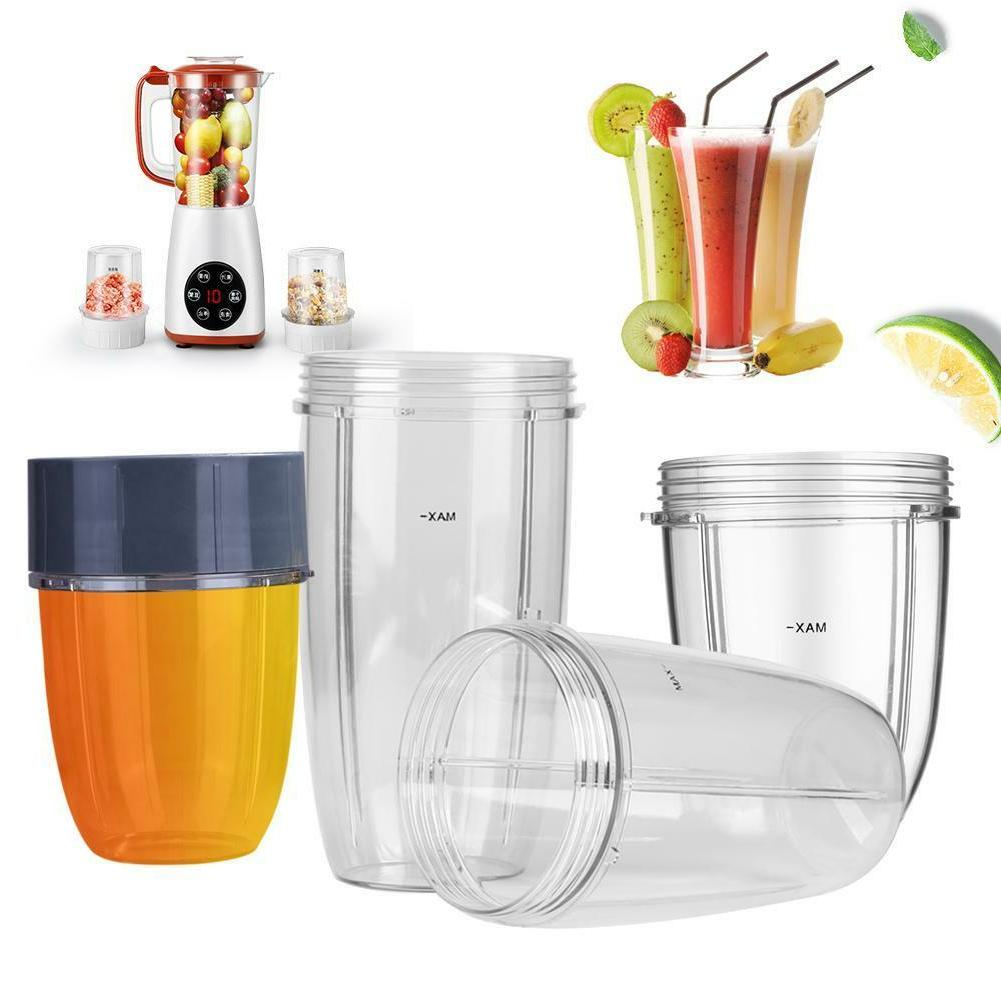 18/24/32OZ Juicer Cup Clear Mug Replacement For Nutri Ninja