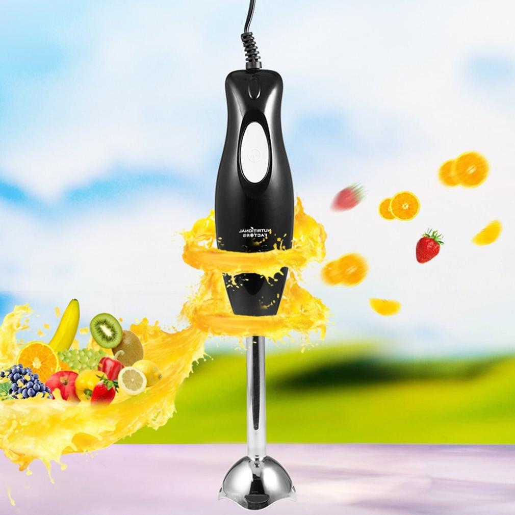 1pc Electric Mixer Grinder Machine Fruit Juicer Mixing Hand-held Kitchen 220V 300W