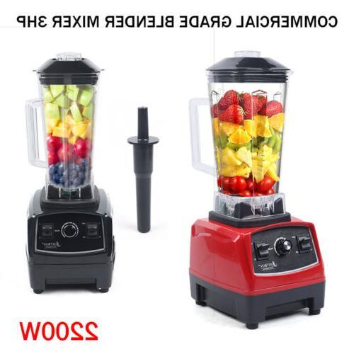 2L Heavy Duty Commercial Grade Blender Mixer Juicer Comercia
