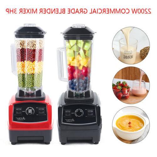 2L 2200W Heavy Duty Commercial Grade Blender Mixer for Juice