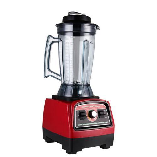 2800W Electric Countertop Blender Fruit Vegetable Mixer Kitchen