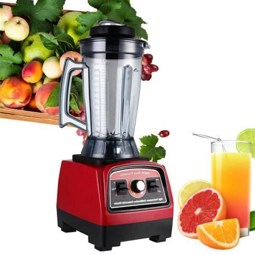 2800w electric countertop blender fruit vegetable mixer