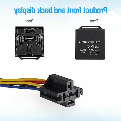 5x 12V Automotive Wires + Socket JD1914 30/40
