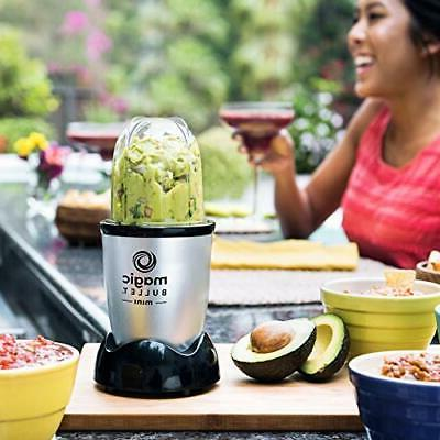 Magic Bullet 3 piece blender, Silver NEW IN BOX