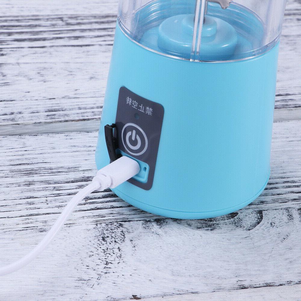 380ml Mini USB Rechargeable Electric Fruit