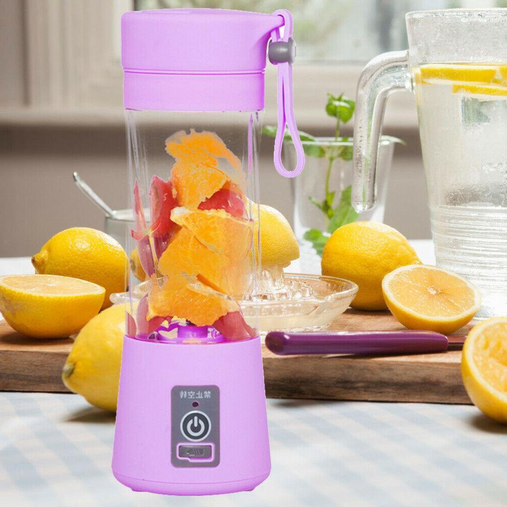 380ml Rechargeable Electric Juicer Fruit Blender
