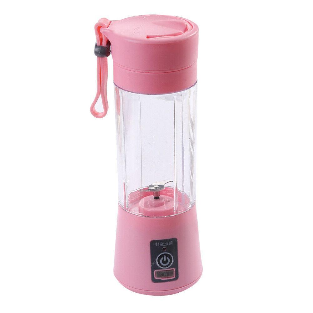 380ml Juicer Rechargeable Juicer Fruit Blender Mixer