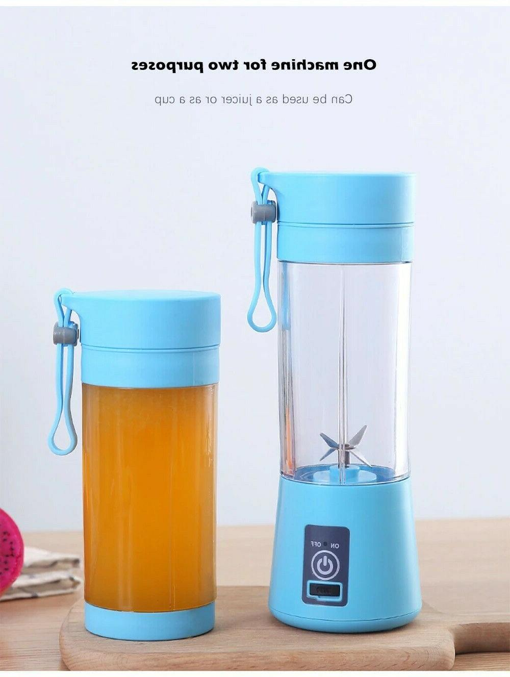 380ml Portable Blender Juicer Rechargeable