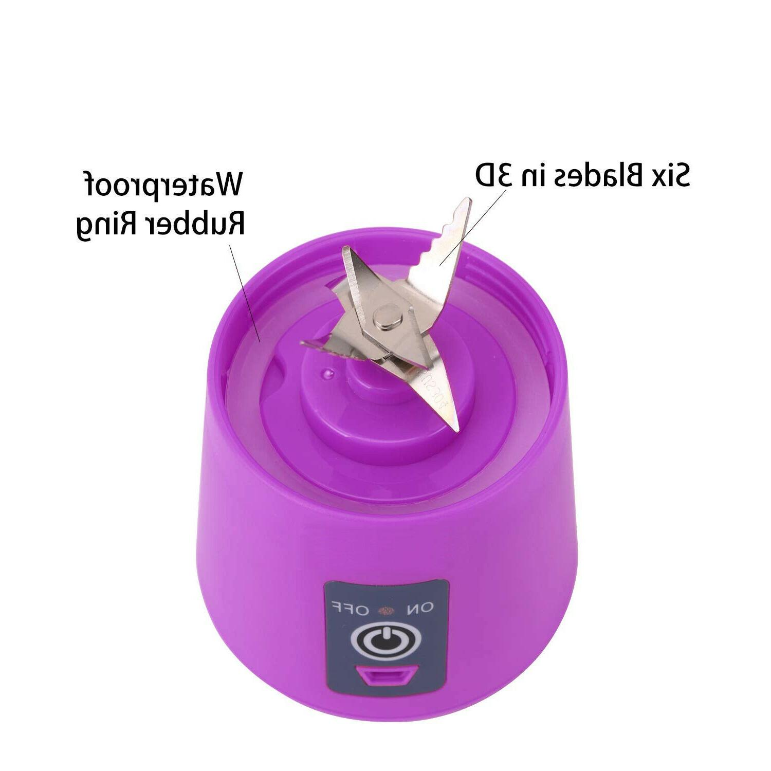 380ml One Portable Blender Mix Rechargeable Jet