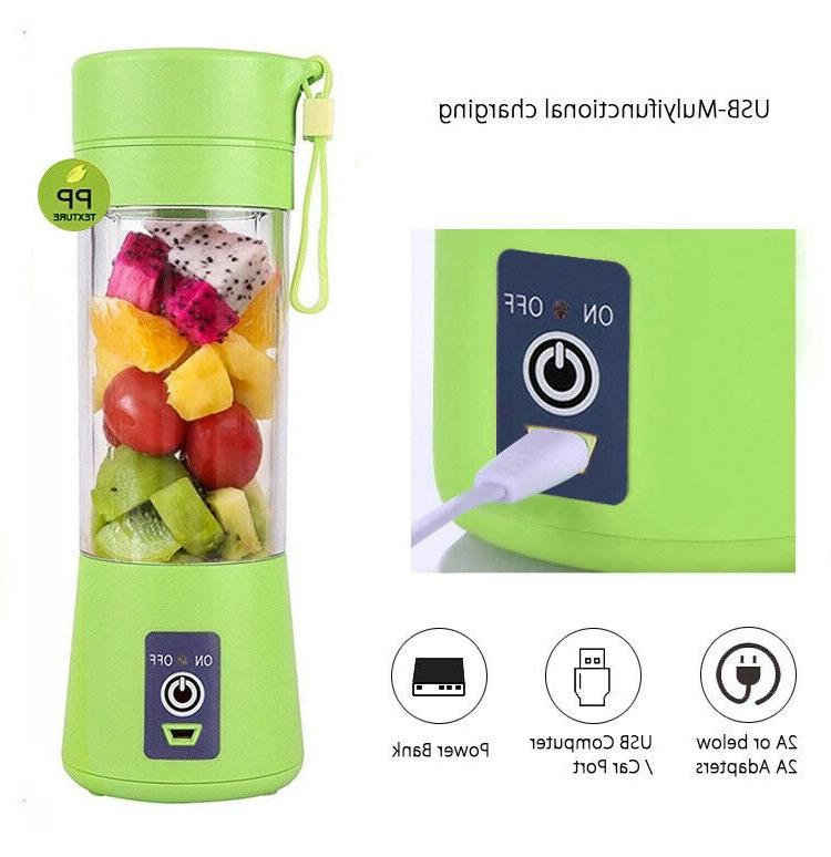 380ml One Personal Blender Juicer Rechargeable Cordless