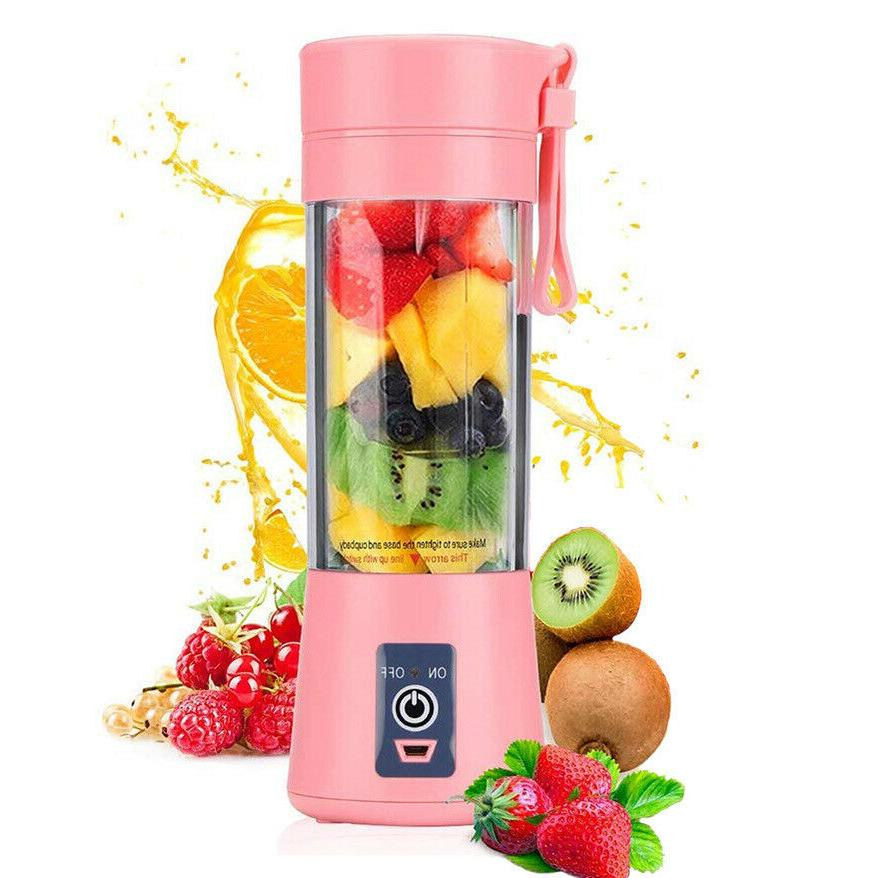 380ml Portable Personal Blender Mix Blend Rechargeable Jet