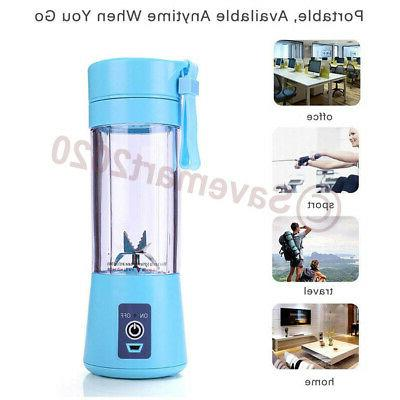 380ml One Blender Juicer Mix Rechargeable Cordless