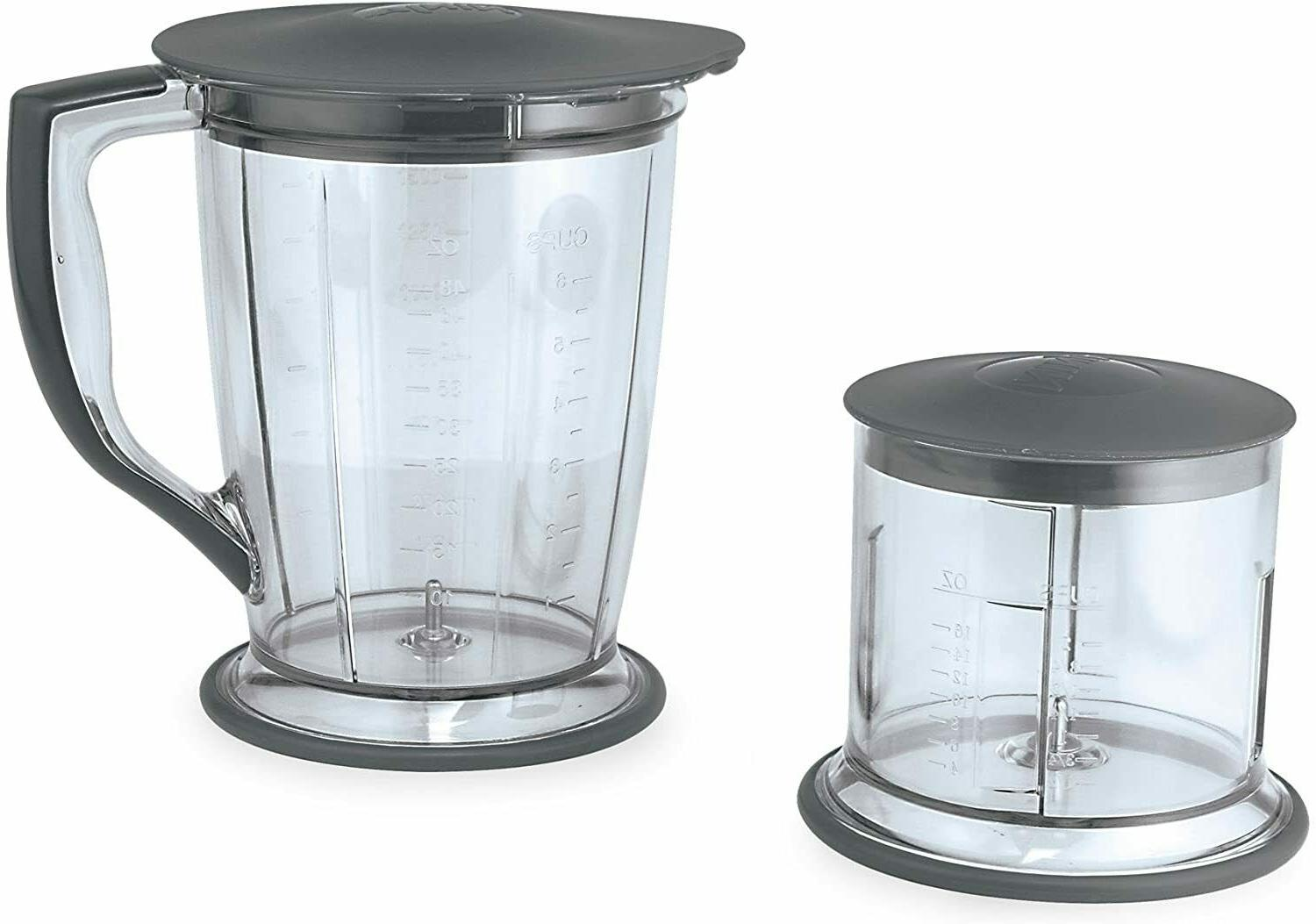 400-Watt Blender/Food Processor for Frozen Chopping and Food Prep.