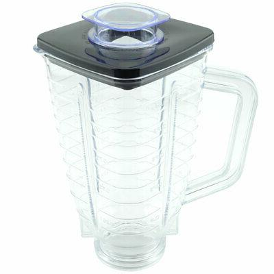 5-Cup Plastic Blender Jar with Lid for Oster Blenders Replac