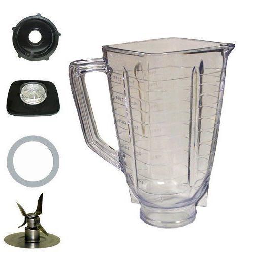 Blenpar Top 6 Piece Plastic Jar Part,Fits Blender