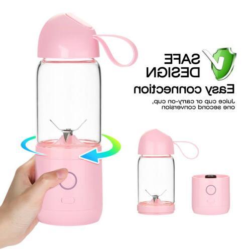 550ML Juice Maker Juicer Cup Blender Bottle Personal Single