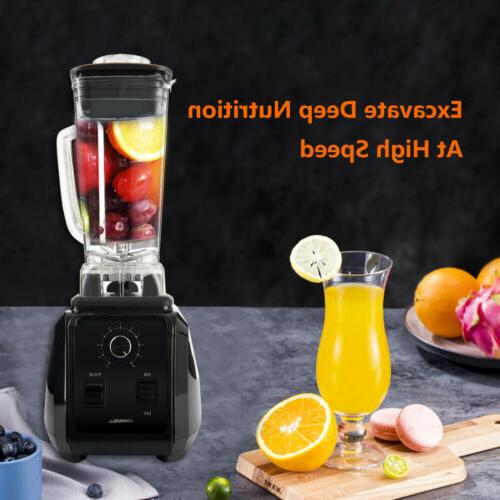 1450W Professional Electric High-Speed Blender Mixer Juicer