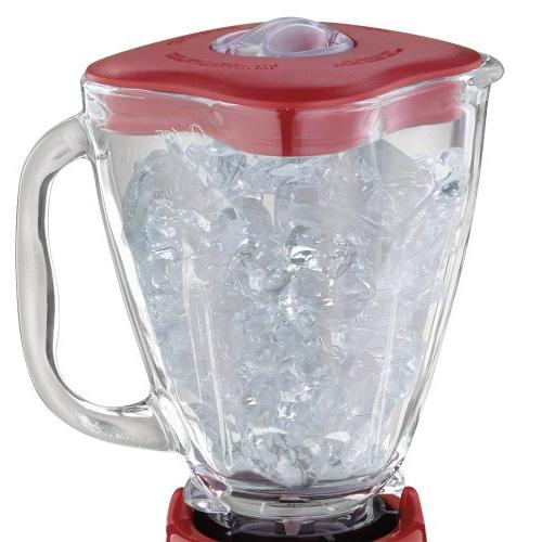 Oster 6831 Speed 5-Cup Blender, Red