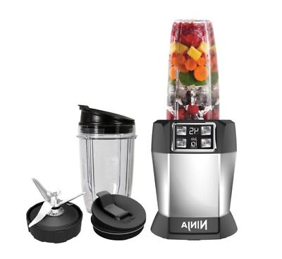 Nutri Ninja 8-Piece Fruit Vegetable Juicer Extractor Blender