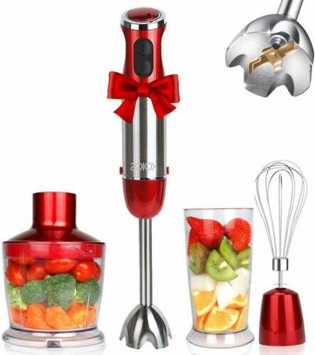 800W Kitchen Hand Blender Immersion Stick Electric Chopper M