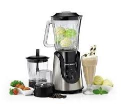BLACK+DECKER BX600G Blender, Medium, Silver
