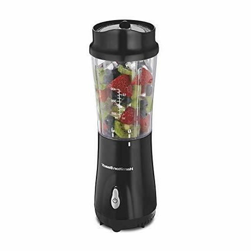 Hamilton Beach  Personal Blender with Travel Lid, Single Ser