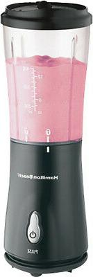 Hamilton Beach Single-Serve Blender with Travel Lid Black Mo