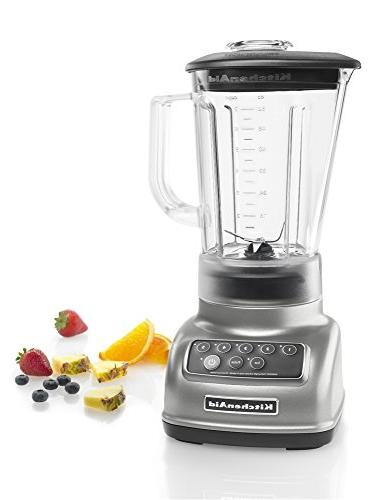 KitchenAid KSB1570SL 5-Speed with 56-Ounce BPA-Free - Silver