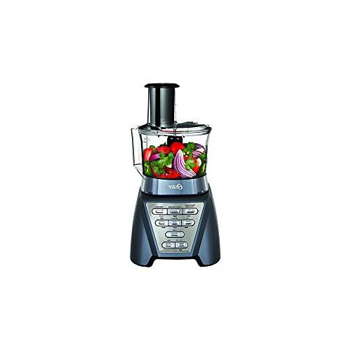 Food Processor Metallic Gray