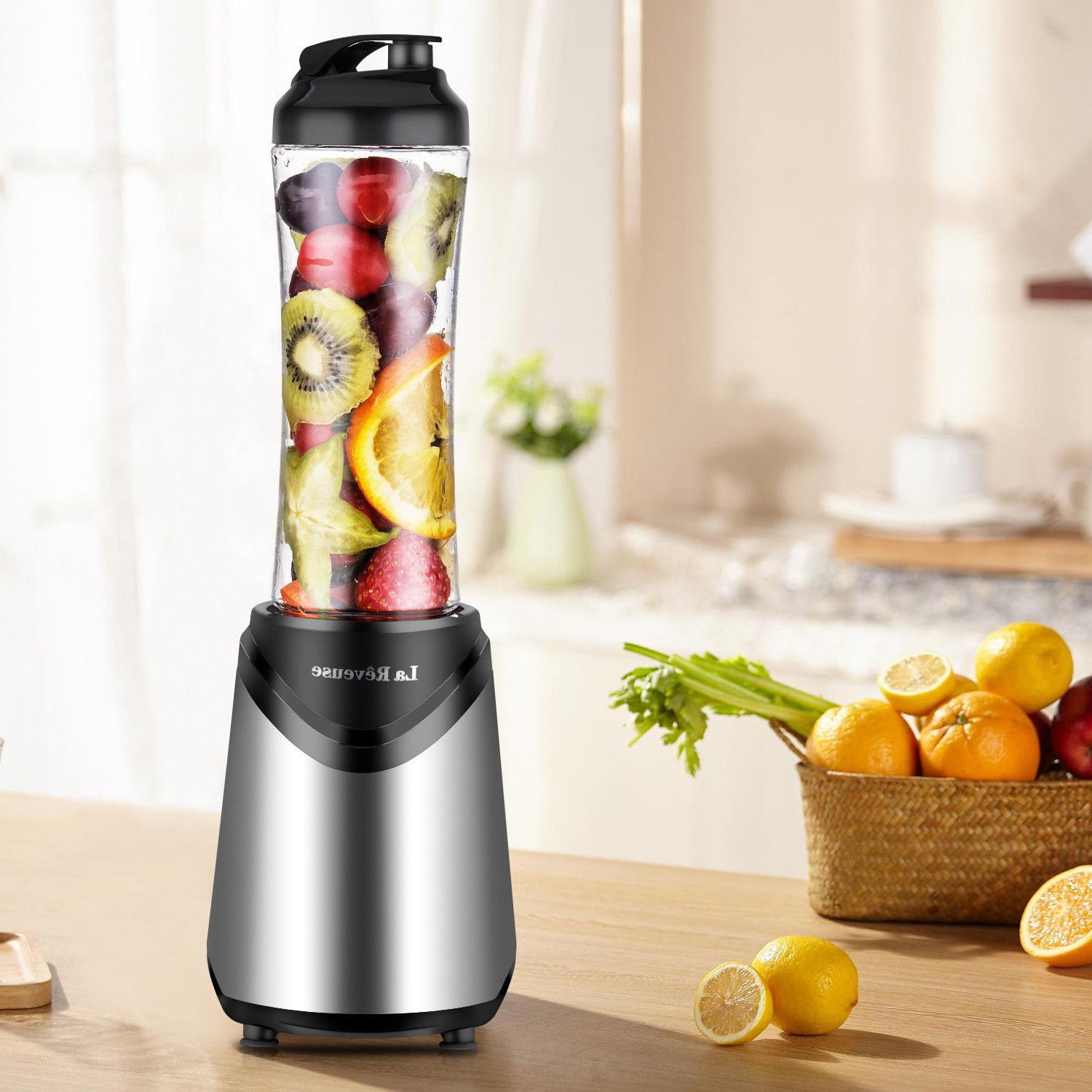 Portable 300W Personal Blender with 18 BPA Free Bottle Mixer