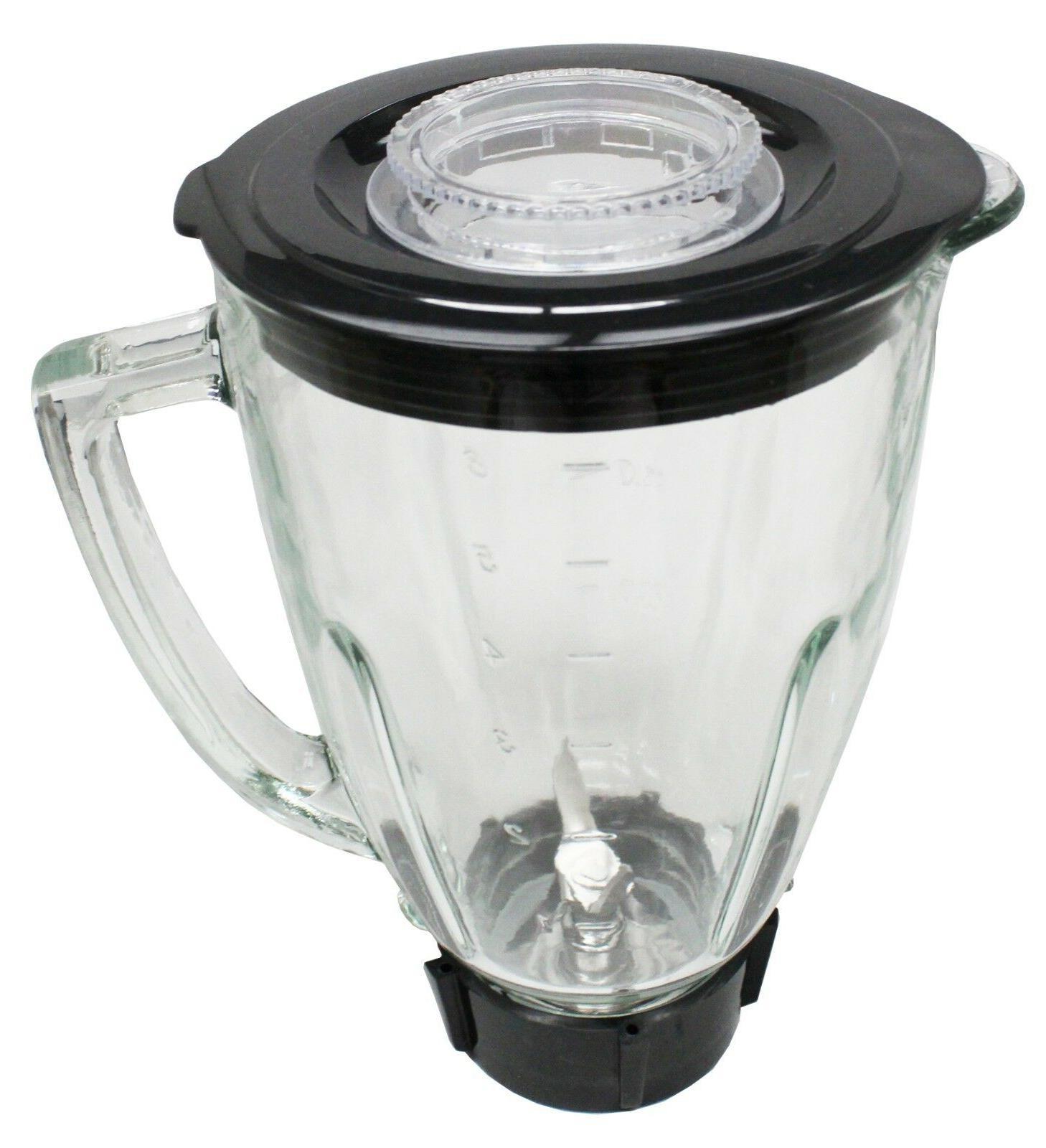 Ronnel Collection 6 Piece Round Blender Glass Jar Replacemen