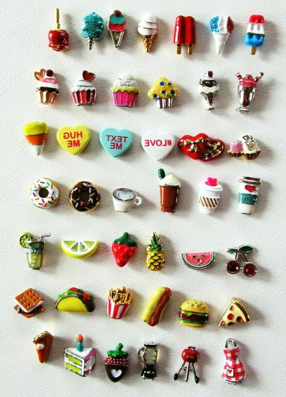 authentic food drink sweets floating charms your