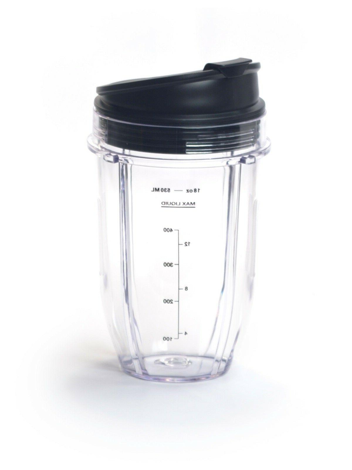 Ninja Auto-iQ 18 Oz Small Single Serve Replacement Cup for N
