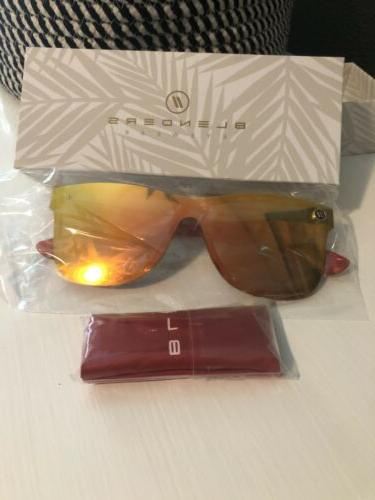 autumn fire red tortoise new authentic polarized