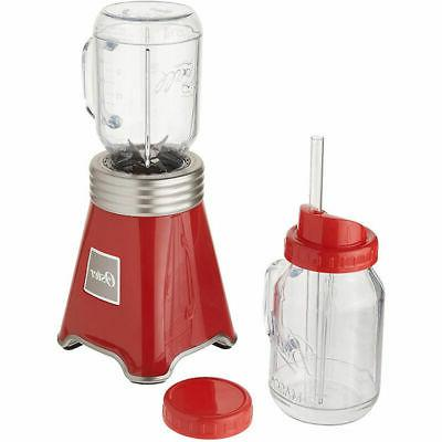 Oster Ball Personal Blender, Red with Bonus Blending Cup