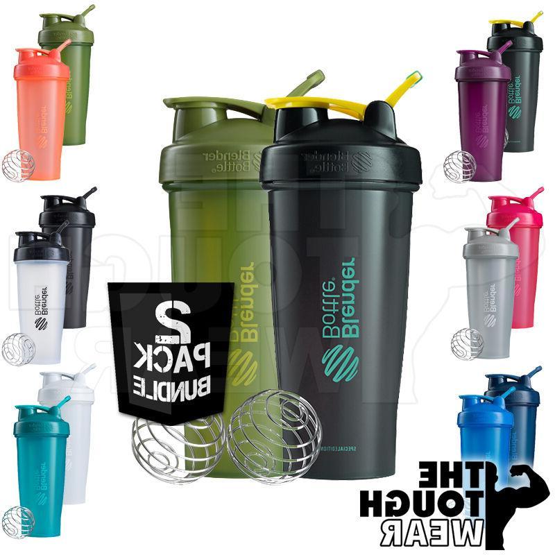 Blender Bottle 2-Pack Classic 28oz Shaker Cup SportMixer - N