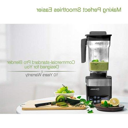 ODA Commercial Personal Home Smoothie Maker High-Speed Drink and Crusher Steel Pitch, 16238
