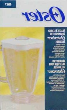 Oster Blender Jar Fits All Older Oster Blenders Plastic 6 Cu