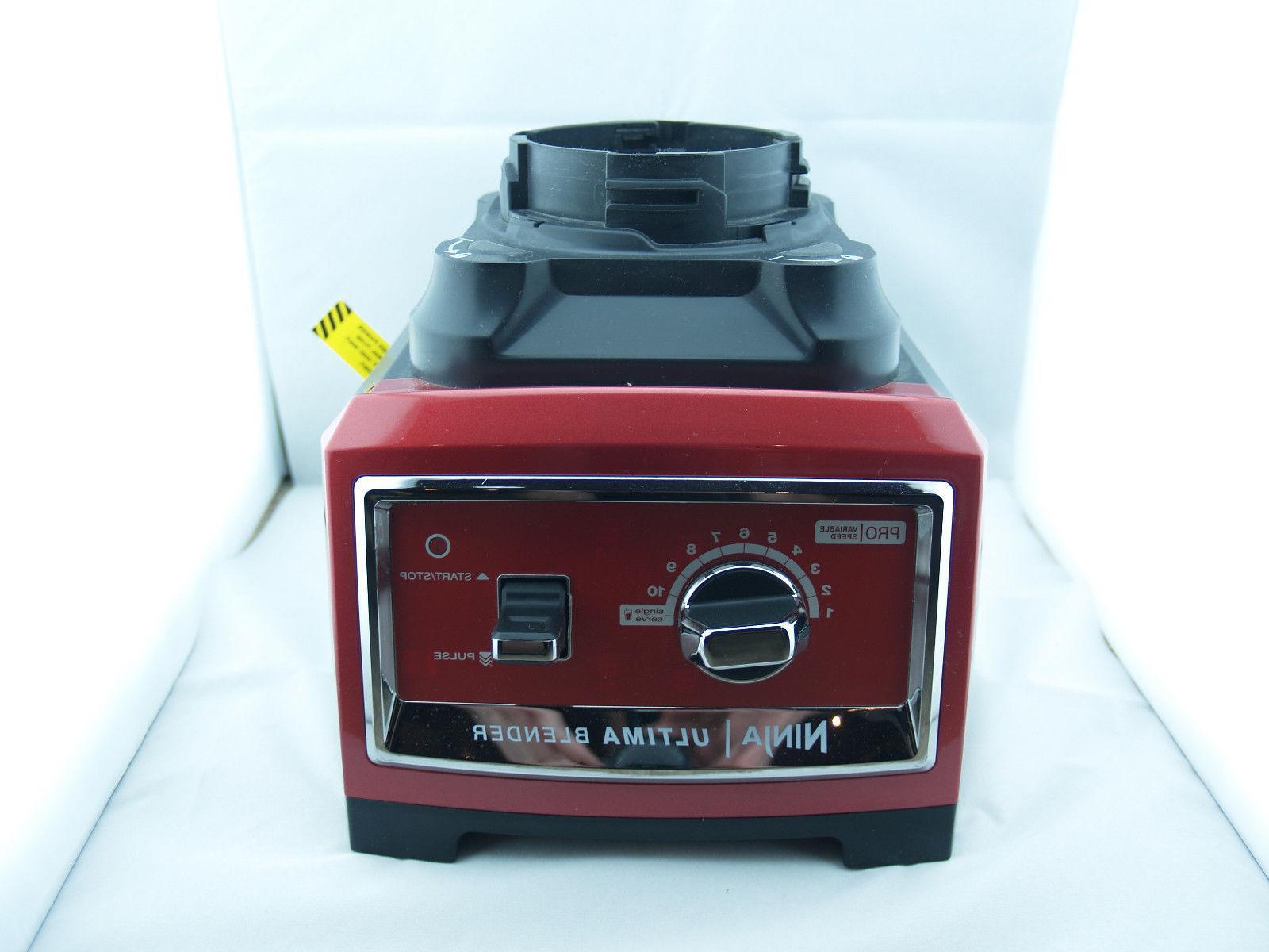 Ninja Blender Motor Ultima BL810 - 2.5HP 1500 Watt Power Bas