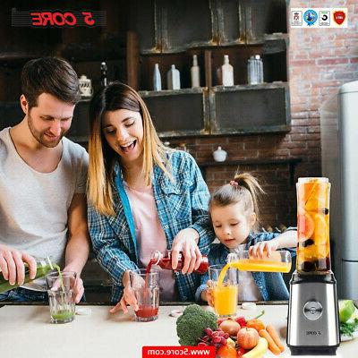 5Core Personal Juicer Shake Smoothie 2 Bottle 300W