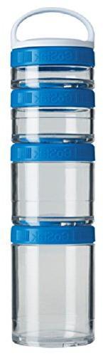 BlenderBottle C02501 Gostak Twist n' Lock Storage Jars, Star