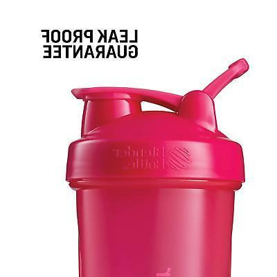 BlenderBottle Shaker Bottle, 20-Ounce, Pebble Grey