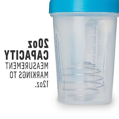 BlenderBottle Shaker 20-Ounce, Pebble Grey