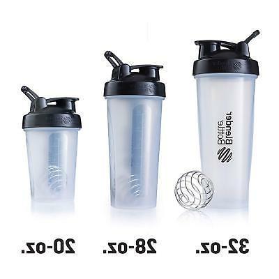 BlenderBottle Top Shaker Bottle, Pebble Grey