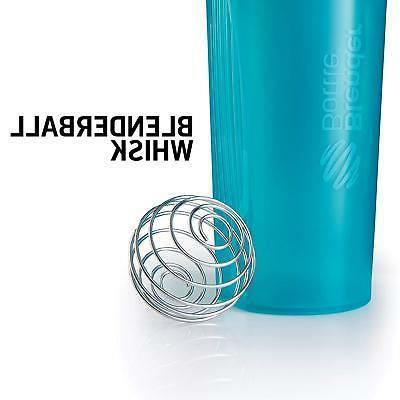 BlenderBottle Top Shaker Bottle, Grey