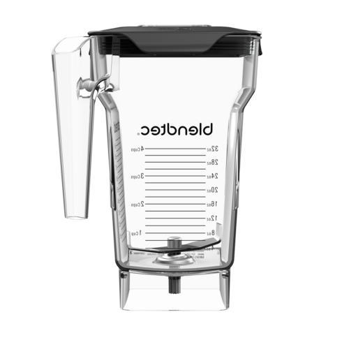 Blendtec FourSide Blender Jar - 2 QT, With Vented Gripper Li