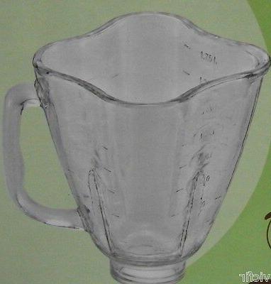clover top glass jar replacement part fits