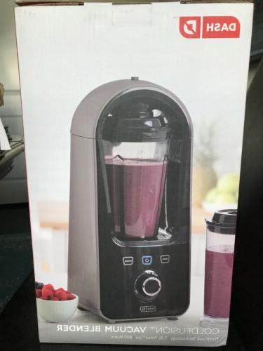 DASH Cold Fusion Vacuum Blender Gray