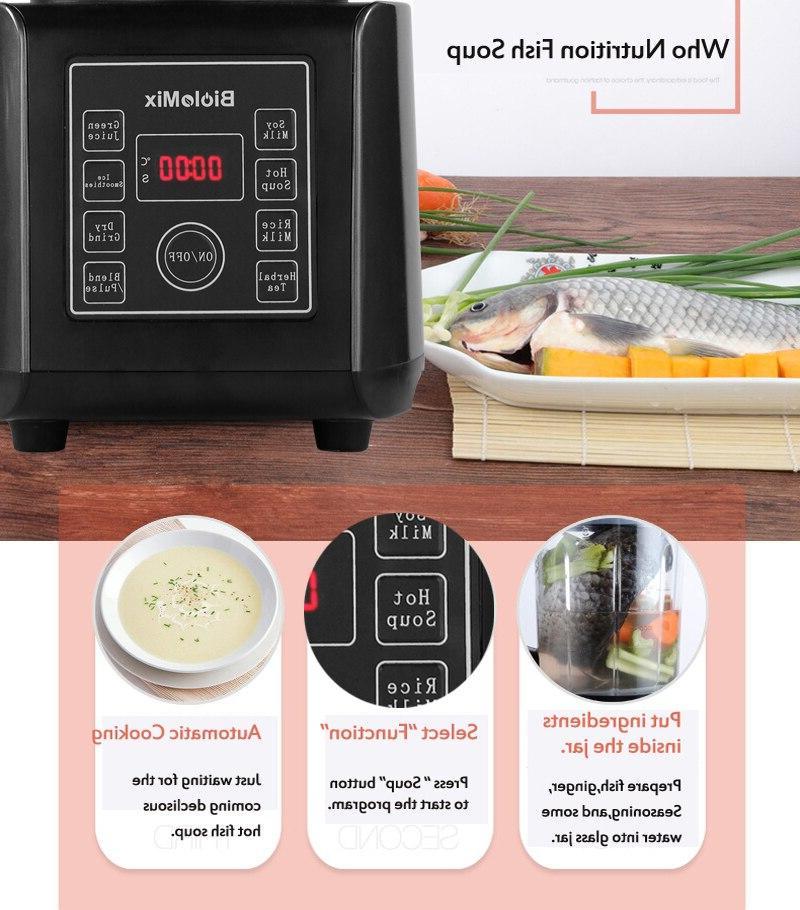<font><b>Glass</b></font> Soup Maker Mixer High Power Grinder Processor With