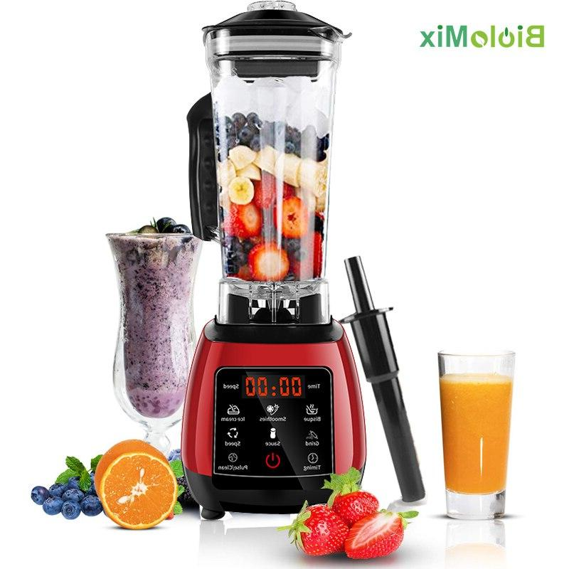 Digital Touchscreen 3HP Preset Automatic Program 2200W Power <font><b>Blender</b></font> Food Processor Smoothie